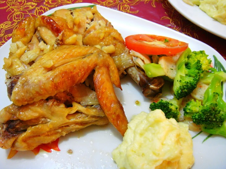 Hungry Fat Chef: Baked Chicken Wings and Deep Fried Fish for Dinner ...