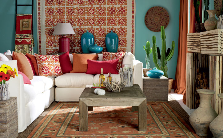 My blog x mexican dream for Mexican inspired living room ideas