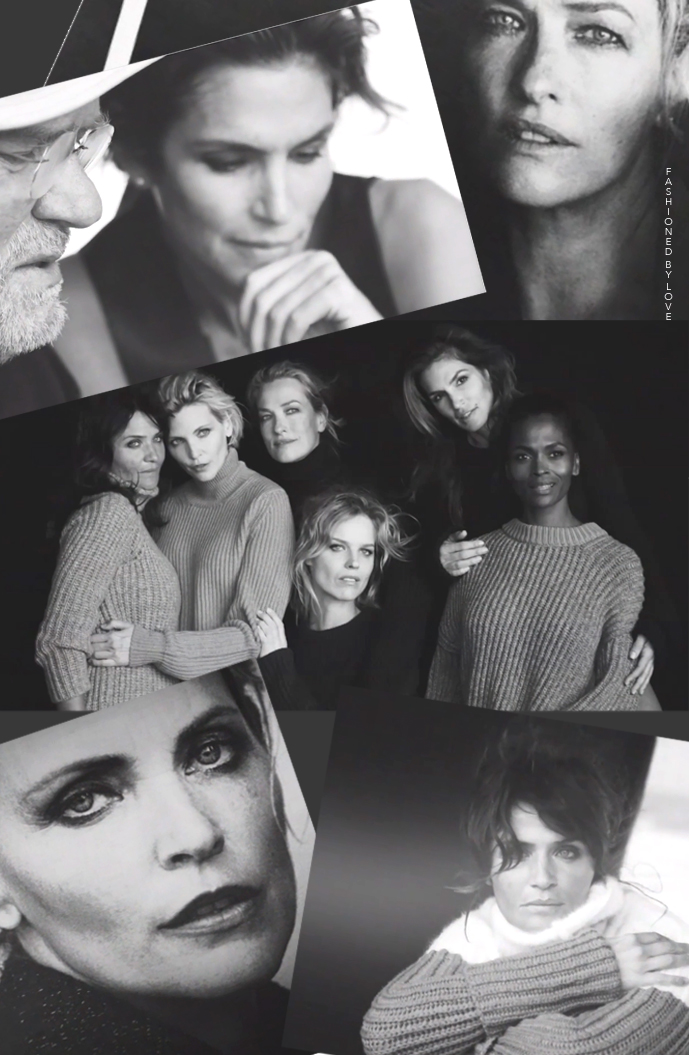 Supermodels Cindy Crawford, Tatjana Patitz, Nadja Auermann, Helena Christensen, Eva Herzigova & Karen Alexander reunite with Peter Lindbergh for The Reunion film project for Nowness... See short film and photos on fashionedbylove.co.uk, british fashion blog