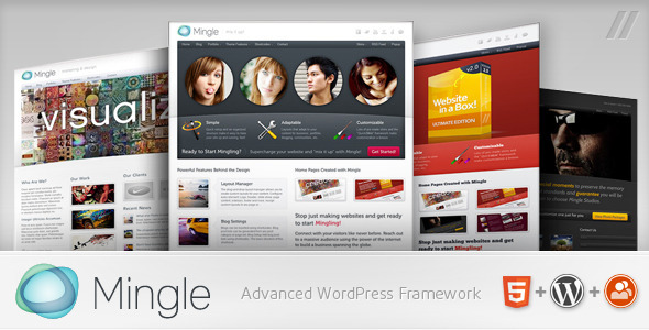 Mingle - Multi-purpose WordPress Theme Free Download by ThemeForest.