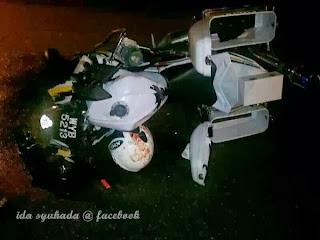 Anggota Polis Maut Akibat Kemalangan Di Langkawi