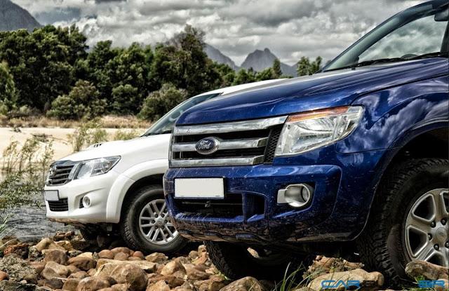 Nova Ranger 2013 x Toyota Hilux