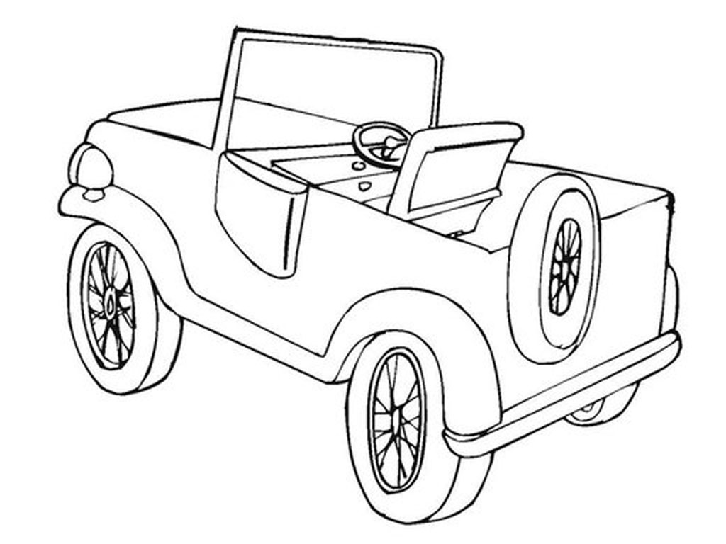 Coloring pages jeep - Jeep Coloring Pages Printable