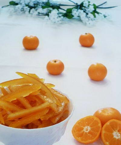 Orange Fruit Skin Jam - Mứt Vỏ Cam