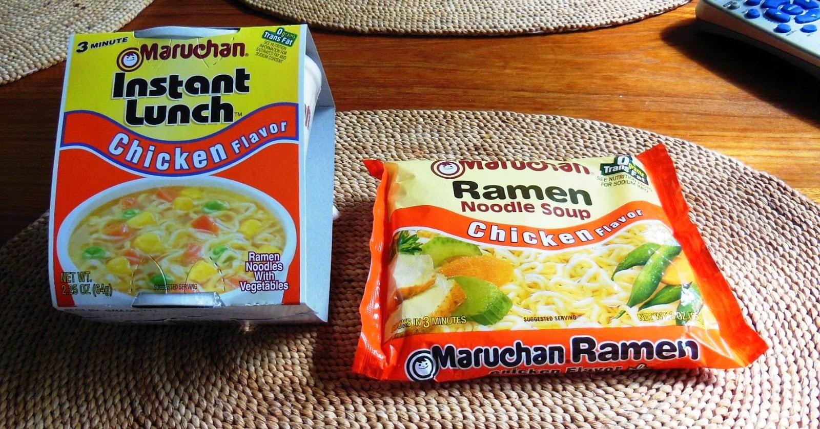 living prepared ---: ramen noodle soup & maruchan instant lunch