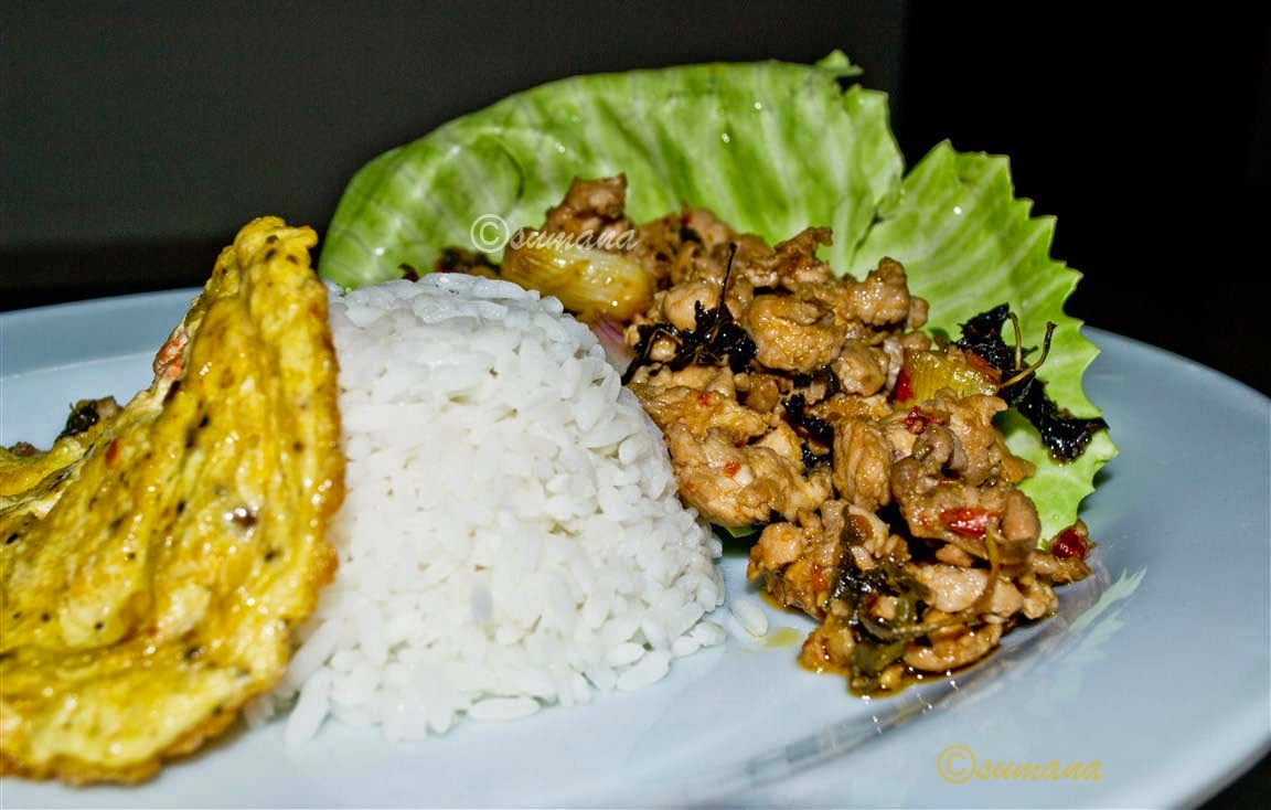 easy Thai chicken recipe with basil