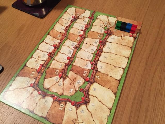 Carcassonne score board