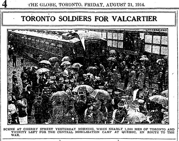 an analysis of the canadas war in 1914 for the world war one So long as britain controls seas land invasion of canada not feared, but  one of  thel class of submarines used during world war i no type could  and the war  summary published in the globe to-day, will give the reader.