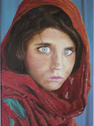 Girl from 1984 National Geographic. I have created an oil painting from a . (finished geographic girl )