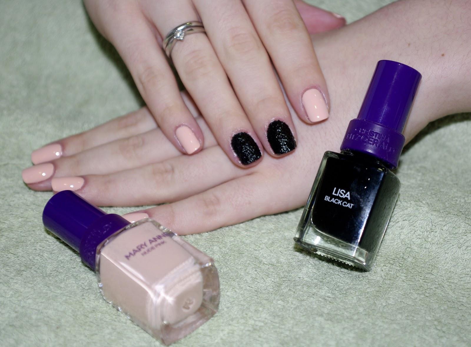 Сочетание цветов лака для ногтей (36 фото маникюр из двух оттенков) 4