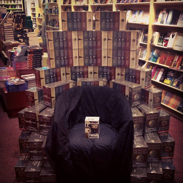 trono de hierro libros - Juego de Tronos en los siete reinos