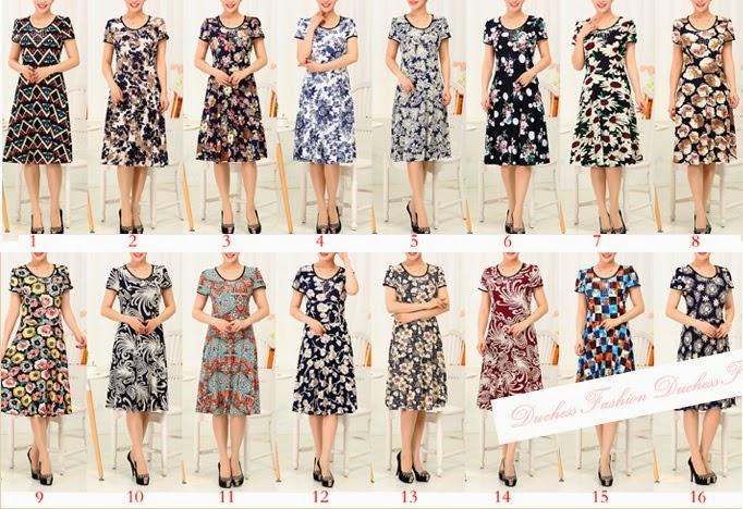 Plus Size V- Collar Sequin Ice Silk Midi Dress