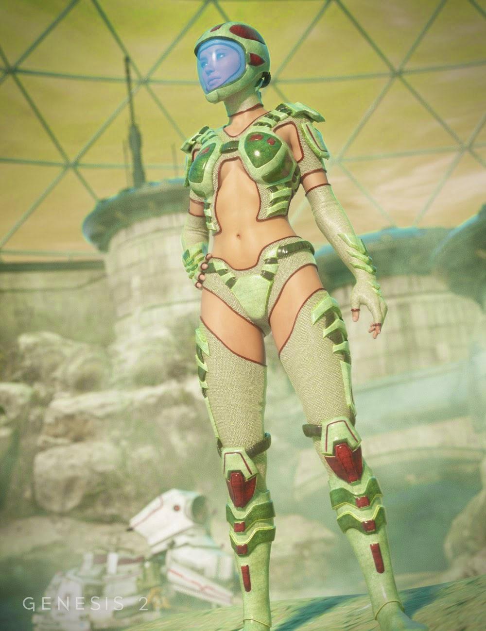 Scifi Sniper Textures Suit