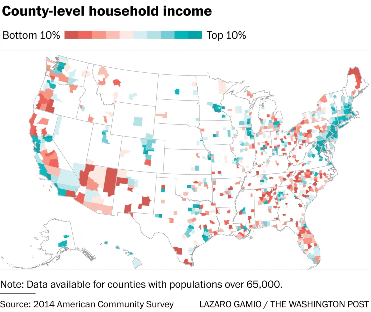 Country-level household income