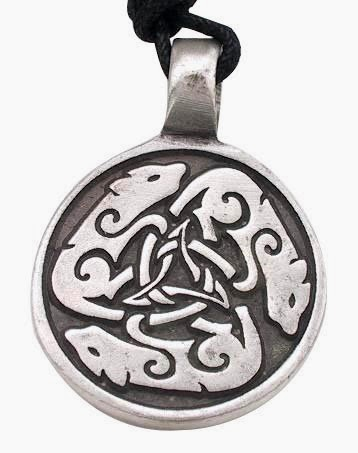 Link to Celtic Wolf Pendant