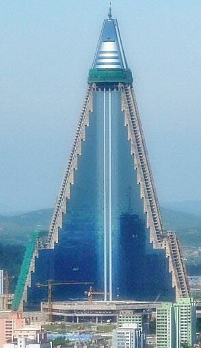 Lotte Hotel 30-Ryugyong-Pyramid-Hotel-Pyongyang-North-Korea-