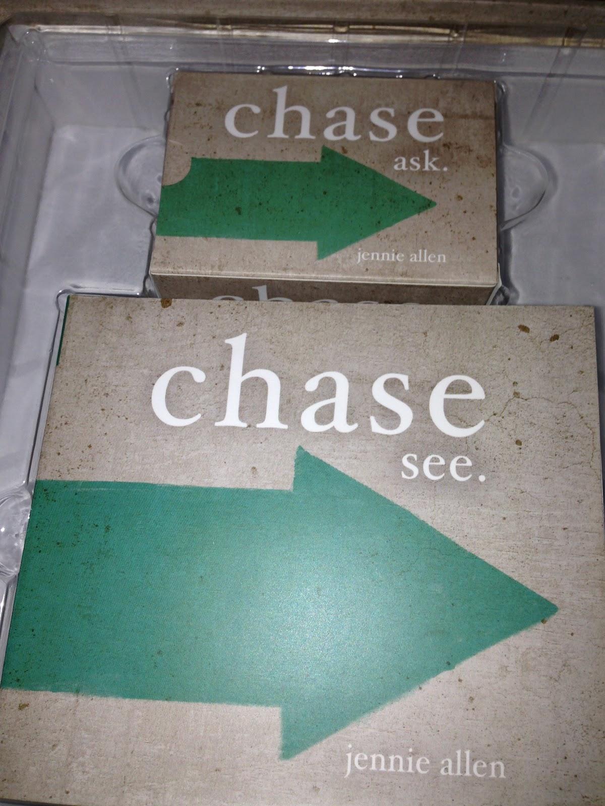 Chase Participant's Guide: Jennie Allen: 9781418549350 ...