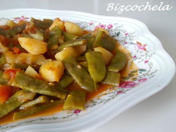 Judias verdes con tomate cocinar en casa es for Cocinar judias verdes de bote