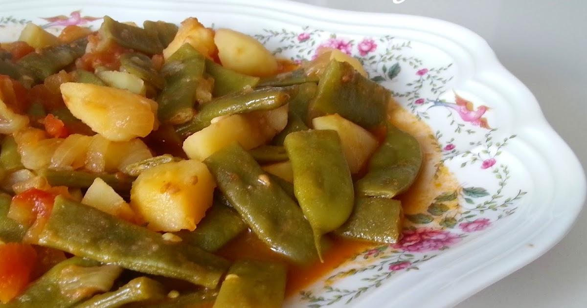 Recetas y a cocinar se ha dicho jud as verdes guisadas for Cocinar judias verdes