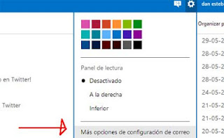 configurar outlook correo