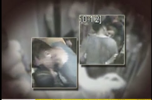 Cedric Lee Kissing Deniece Cornejo At Elevator Of Condo