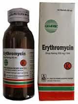 DOSIS OBAT CORSATROCIN (Erythromycin / Eritromisin)