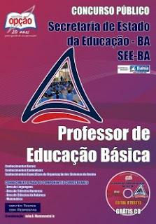 Apostila SEC BA REDA 2015 Professor da Educação Básica Secretário da Educação Bahia