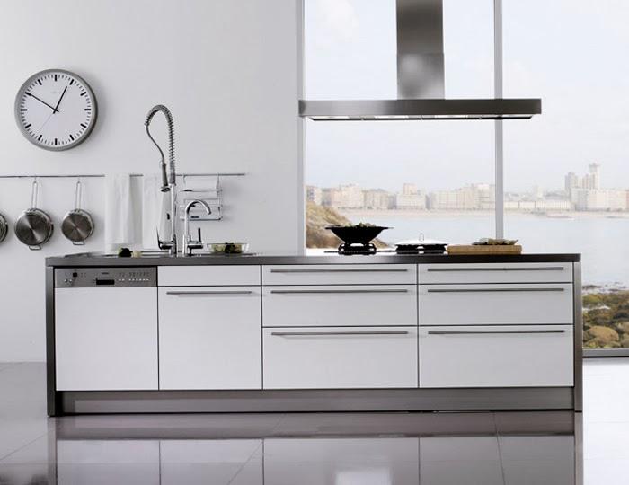 Materiales para cocinas i laminados resistentes y for Cocinas modernas blancas precios