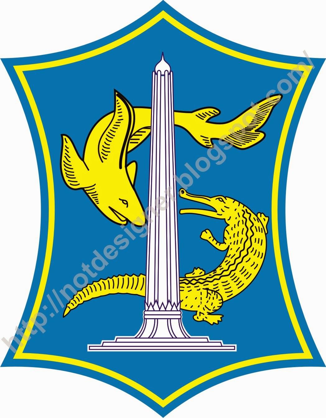 Logo Kota Surabaya Vector Designer Gambar