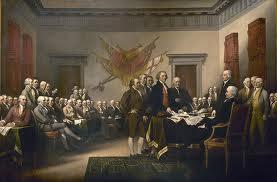 Potpisivanje deklaracije o nezavisnosti