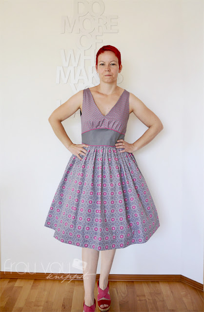 The Marilyn Dress von Serendipity Studio @frauvau.blogspot.de