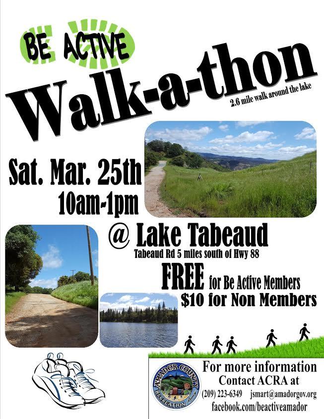 Walk-A-Thon - Sat Mar 25