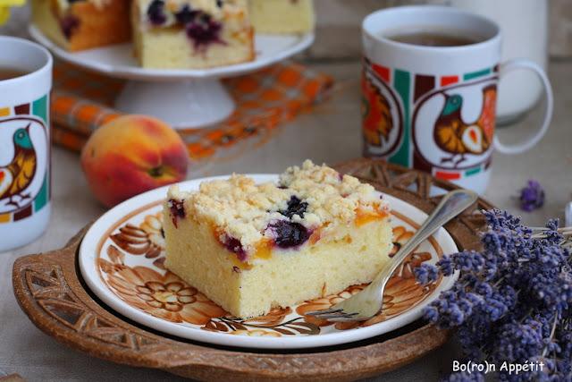 ciasto na kefirze z owocami