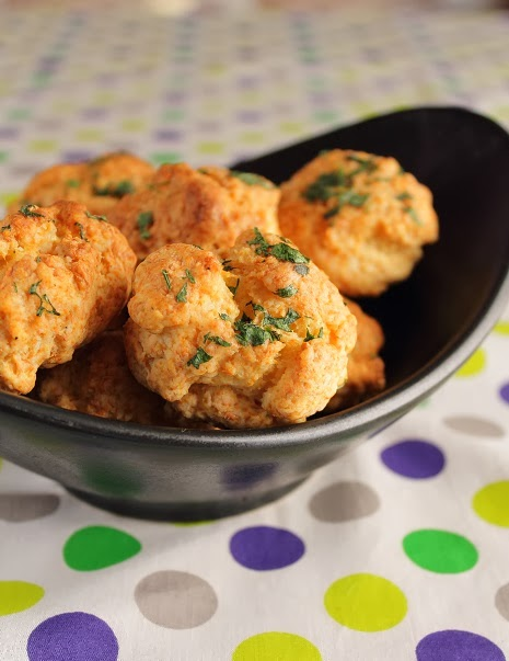 Cheddar Cheese Pepper and Coriander (Cilantro) Biscuits | Baking ...