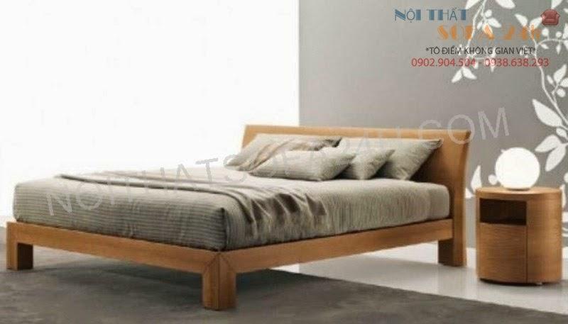 Giường ngủ GN090