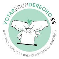 Campanya #VotarEsUnDerecho  #CedeTuVoto