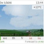優しいアニメーションのお天気ブログパーツ