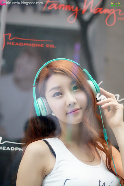 6 Go Jung Ah for Fanny Wang Headphone-very cute asian girl-girlcute4u.blogspot.com