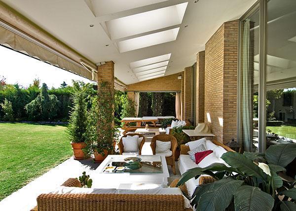 Fotos de terrazas terrazas y jardines dise os de casas for Disenos de terrazas para casas