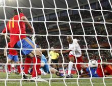 La selección española de fútbol perdiendo 2 a 1 frente a Rumanía en el Mundial