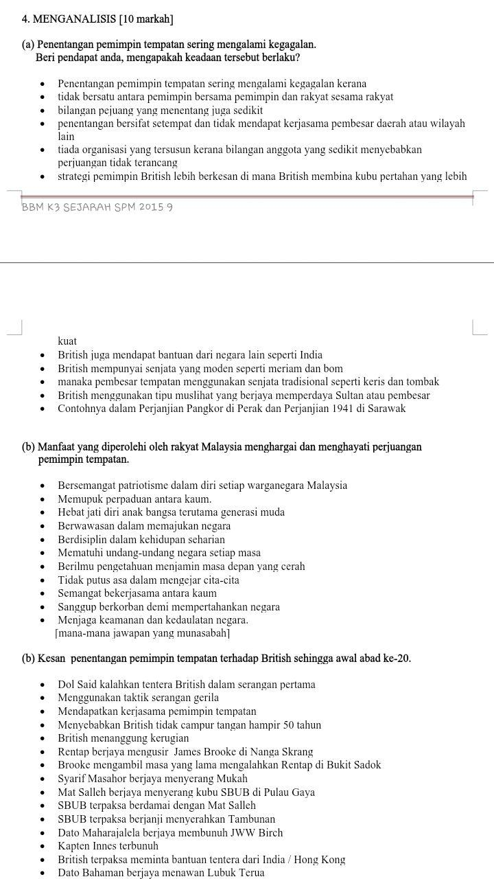 7 skema jawapan kertas 3 Skema jawapan percubaan spm kertas 1 tahun 2013  3 menganjurkan  7 menggunakan air dan elektrik dengan cermat.