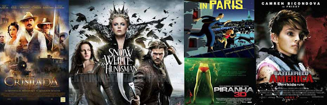 snow white and the huntsman-weekend movie