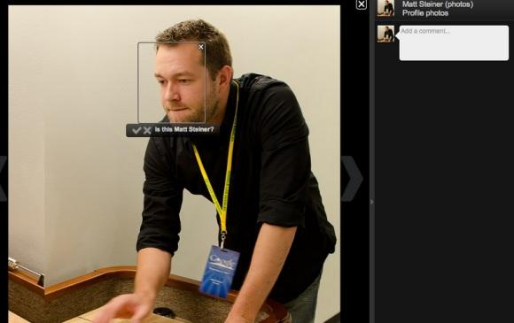 google photo reconnaissance faciale