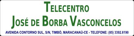 Telecentro José de Borba Vasconcelos.