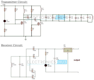 Wireless Battery Charger Circuit Diagram | Wireless Battery Charger Circuit Electronic Engineer