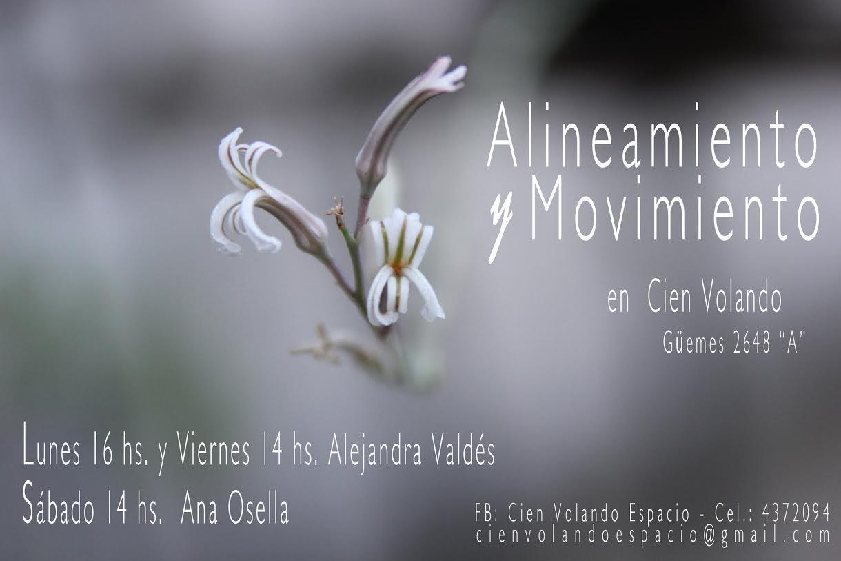 ALINEAMIENTO Y MOVIMIENTO