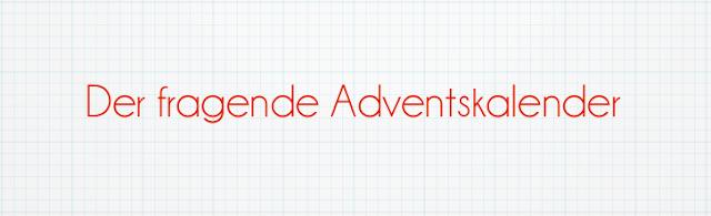 Der fragende Adventskalender | Draußen nur Kännchen!