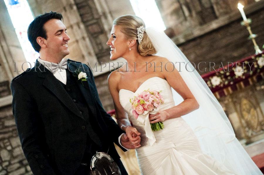 Wedding hairstyles low bun with veil