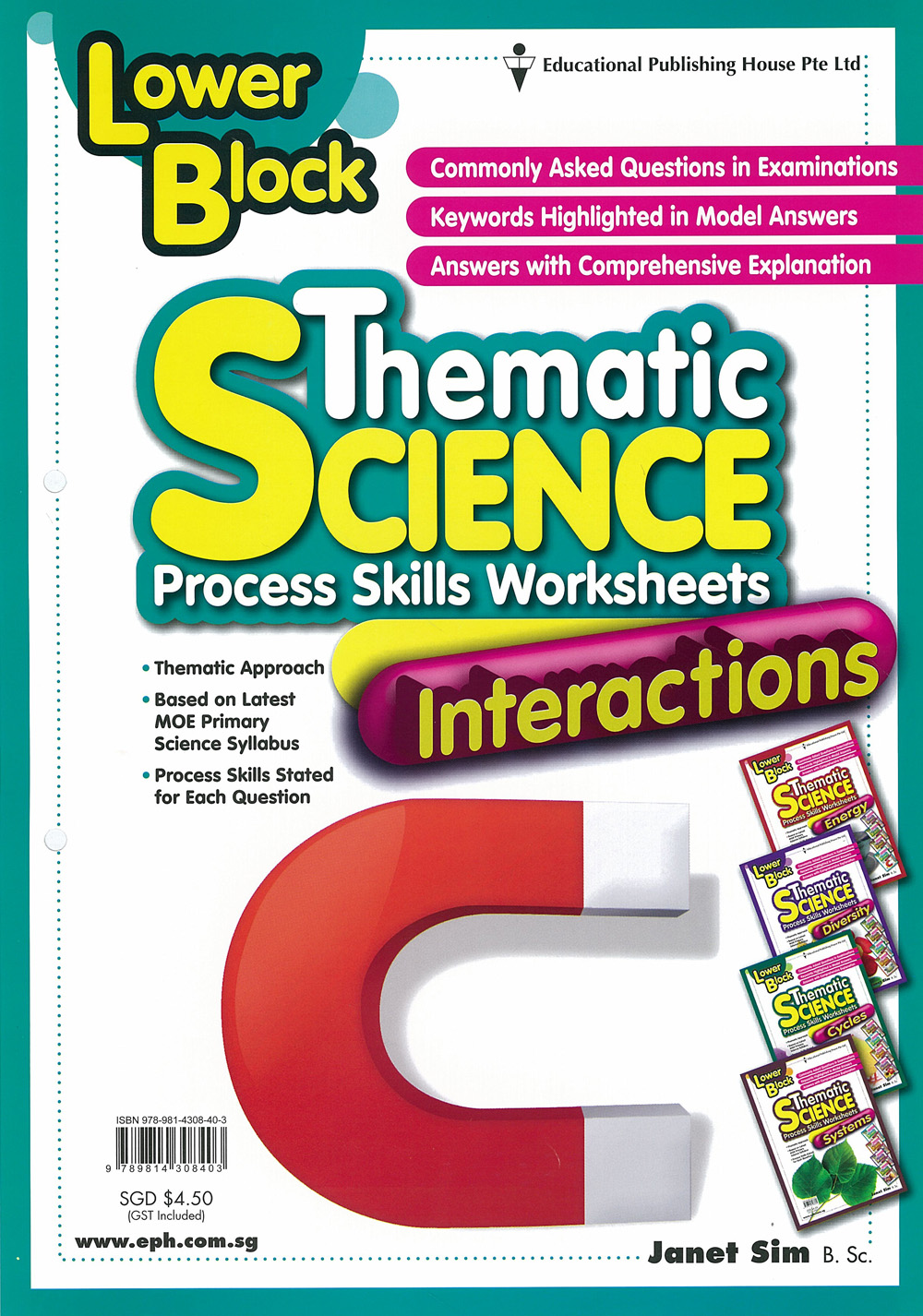 thematic science process skills worksheets author janet sim series low ...