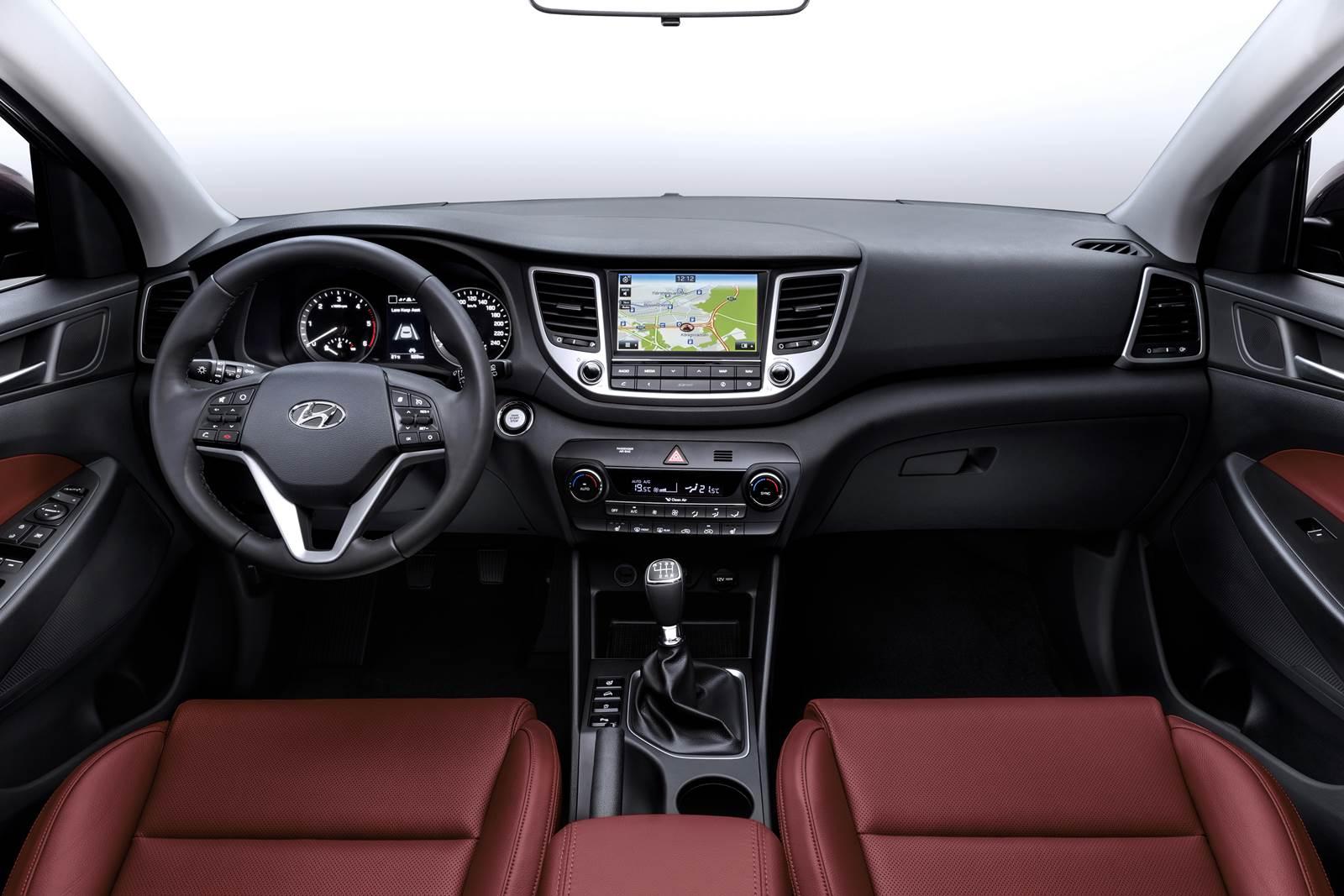 Novo Hyundai Tucson 2016 - interior